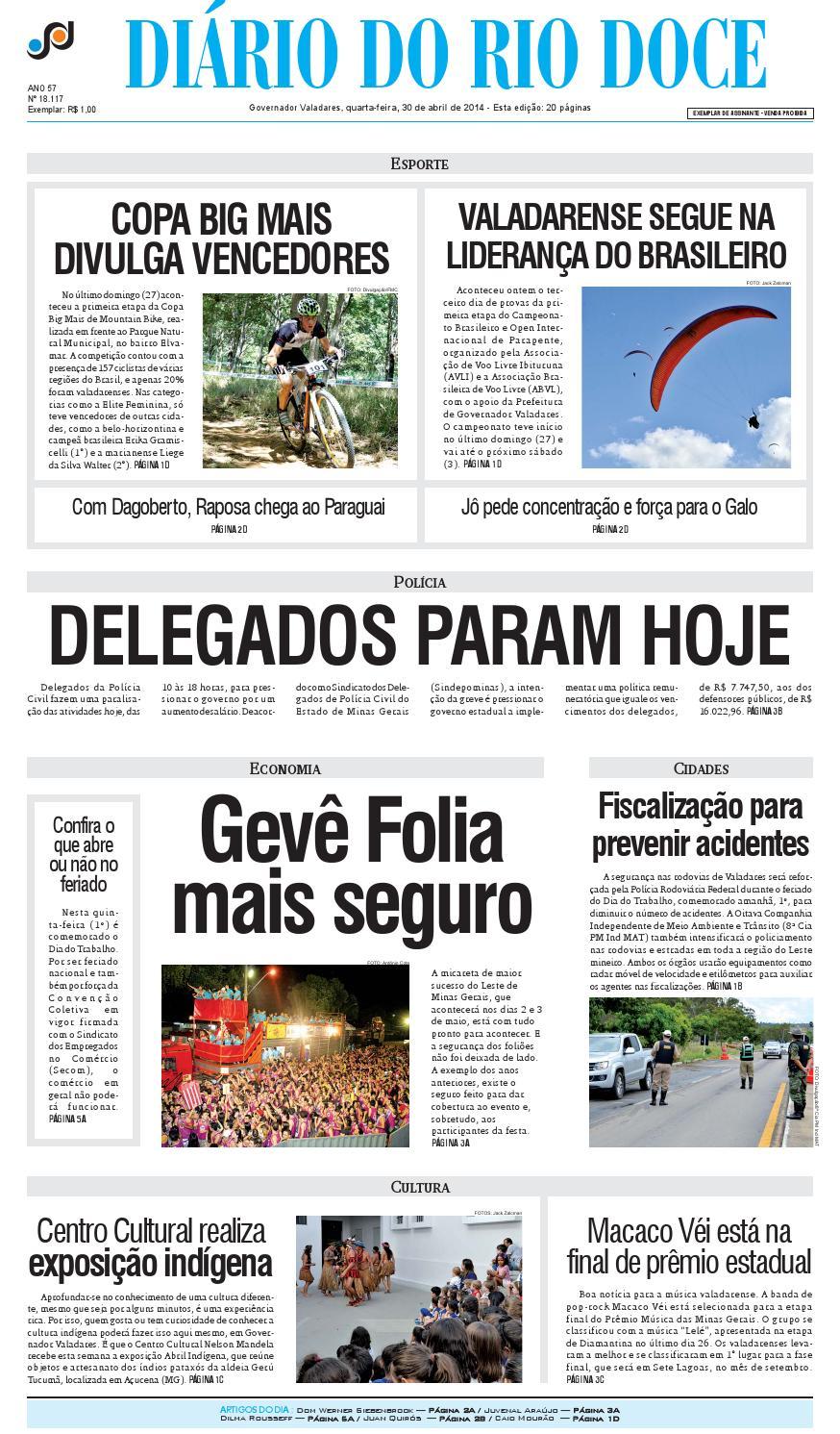 564544d60e Diário do Rio Doce - Edição 30 04 2014 by Diário do Rio Doce - issuu