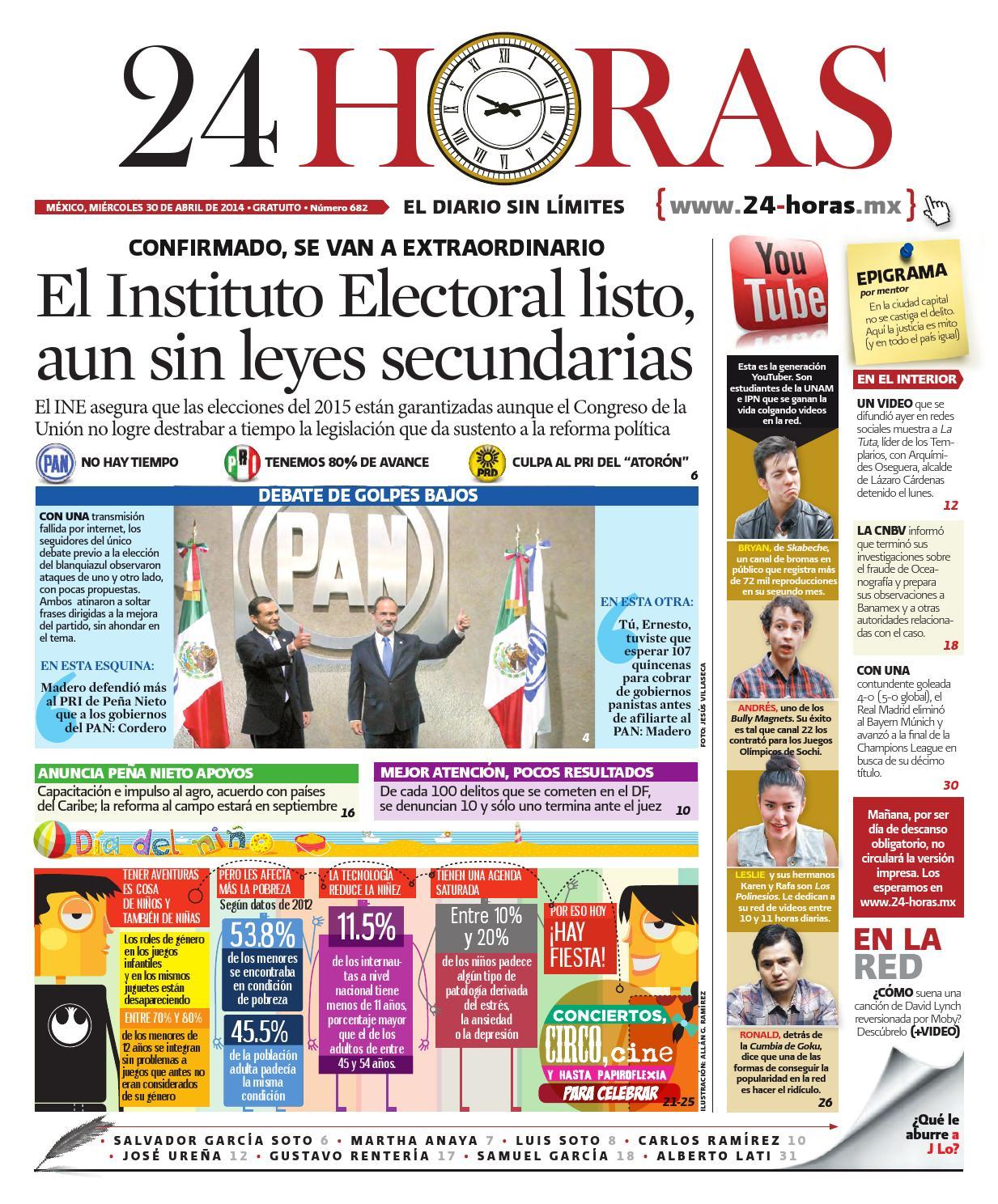 Abril | 30 | 2014 by Información Integral 24/7 SAPI de C.V. - issuu
