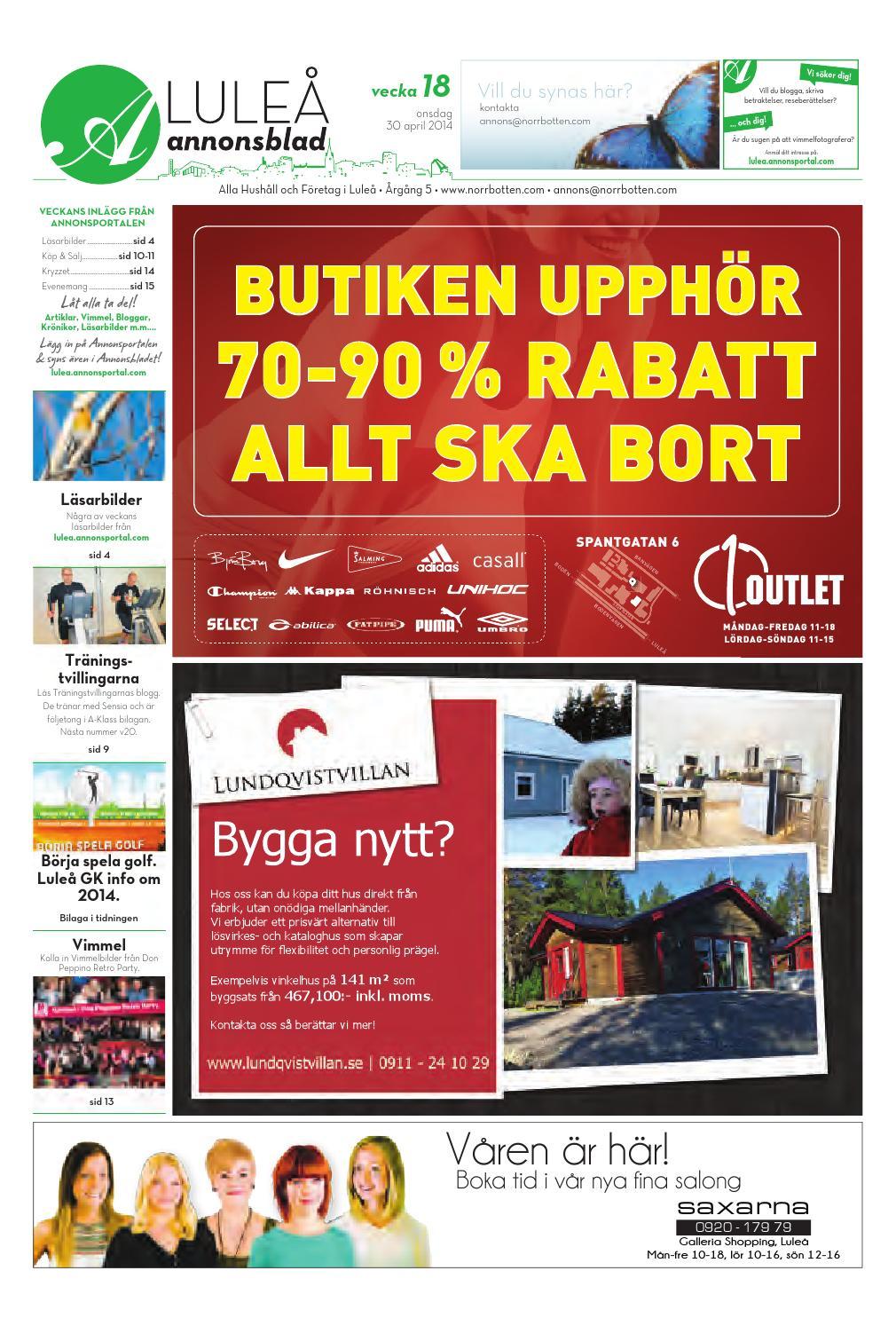 31a293fd641 Luab 2014 vecka18 by Svenska Civildatalogerna AB - issuu