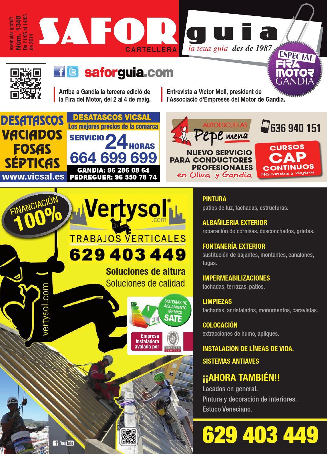 Publicaci N Del 1 Al 14 De Mayo De 2014 By Saforguia  # Muebles Peiro Quart De Poblet