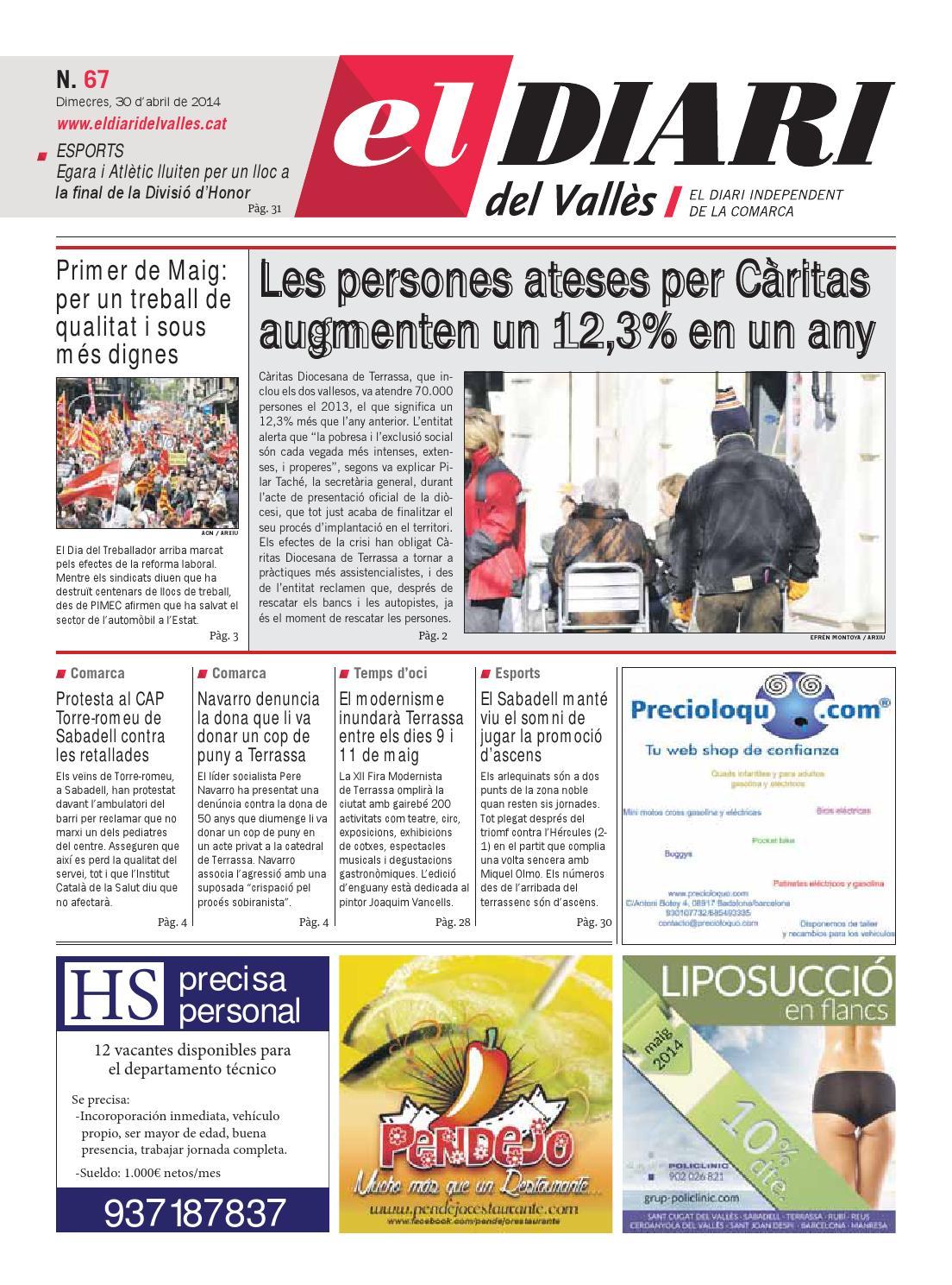 El Diari Del Vallès Nro 67 30 04 2014 By Diari Del
