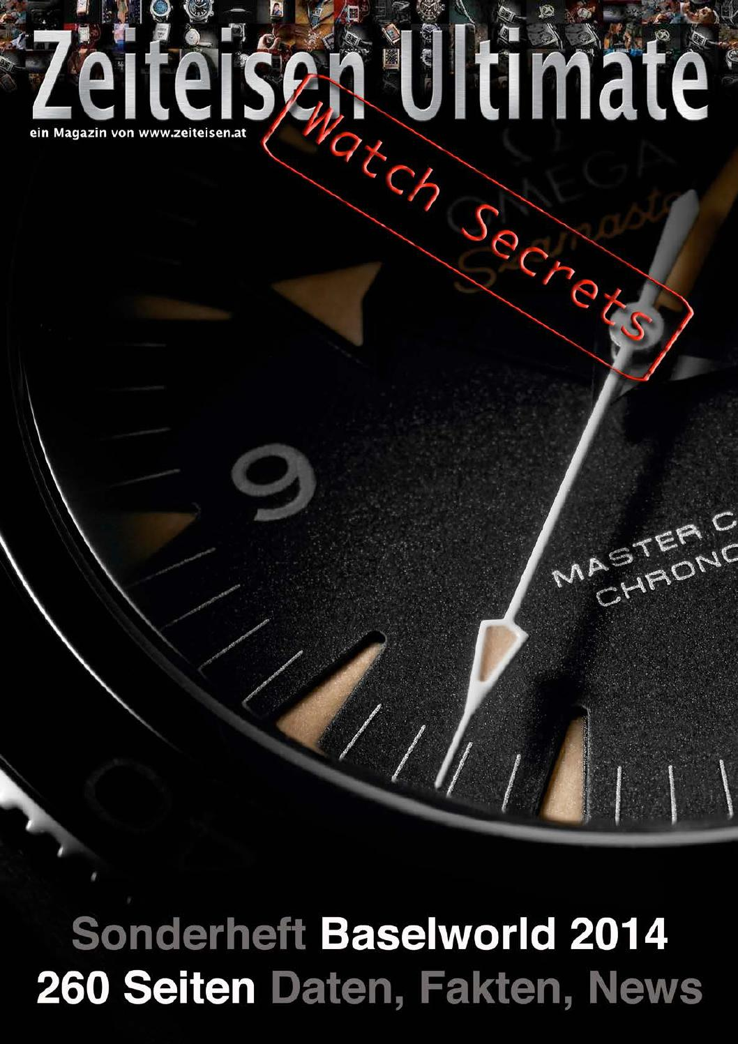 Zeiteisen Ultimate Watch Secrets Baselworld 2014 by Association pour ...