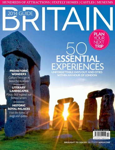 Britain 2014 Guide By The Chelsea Magazine Company Issuu