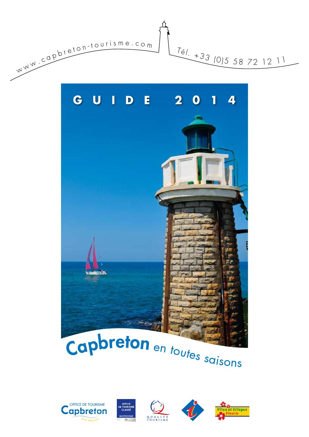 Ot capbreton complet2014 by office de tourisme de capbreton issuu - Office de tourisme cap breton ...