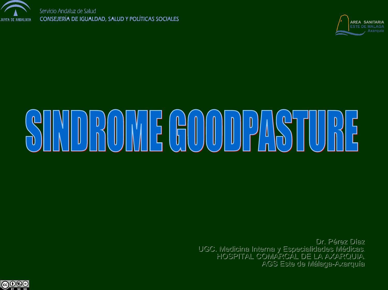 Sindrome de goodpasture