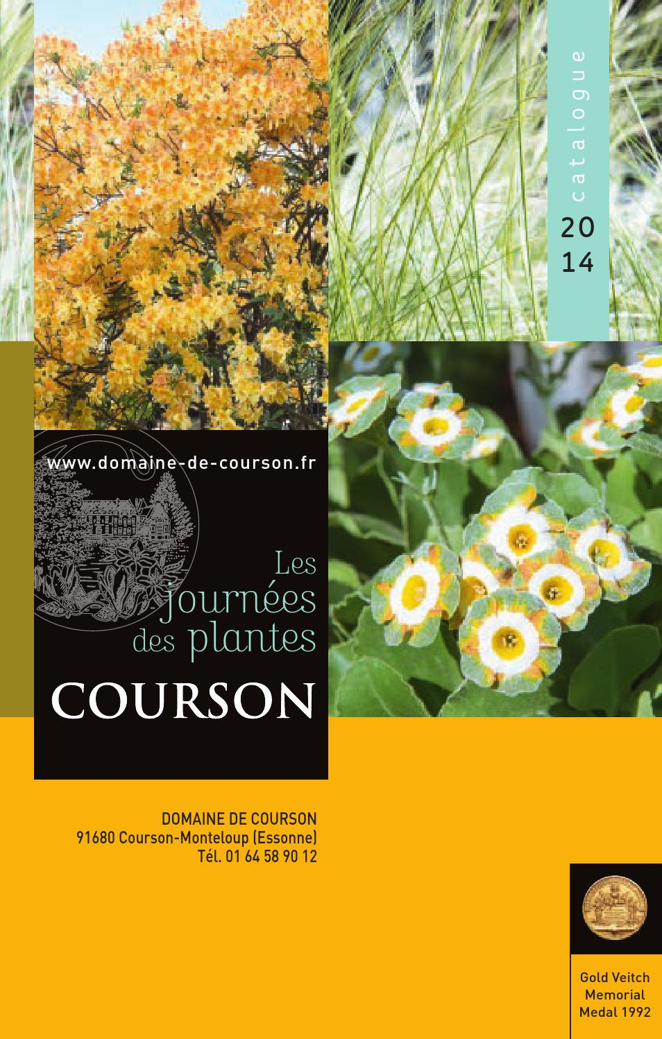 Plante Retombante Pour Muret catalogue courson 2014 sitedomaine de courson - issuu