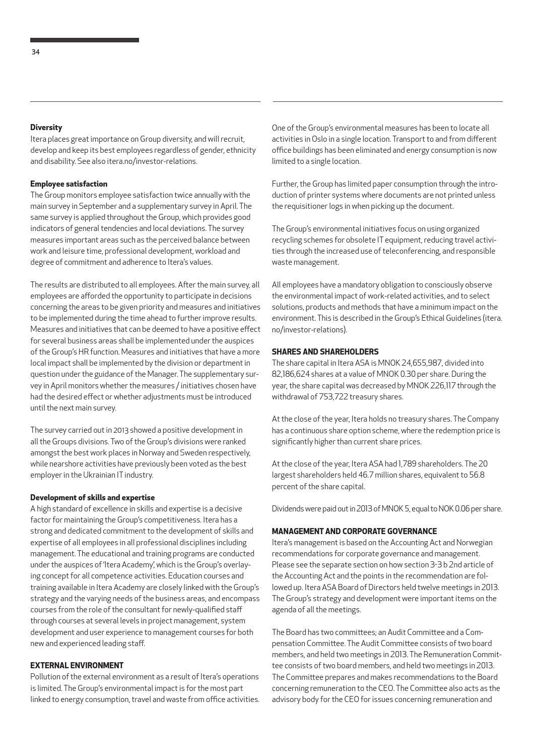 Itera annual report 2013 by Itera - issuu