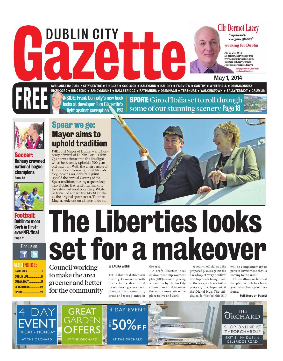 06e221d827 Dublin city by Dublin Gazette - issuu