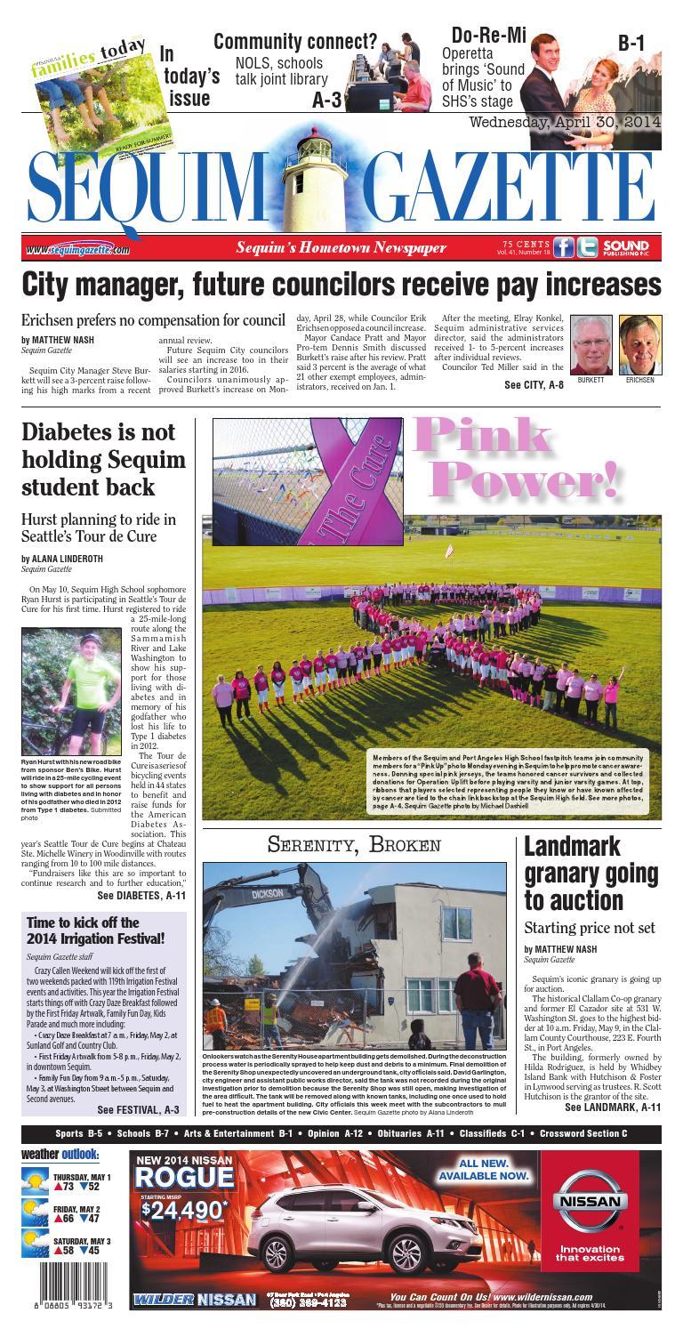 Sequim Gazette, April 30, 2014 by Sound Publishing - issuu