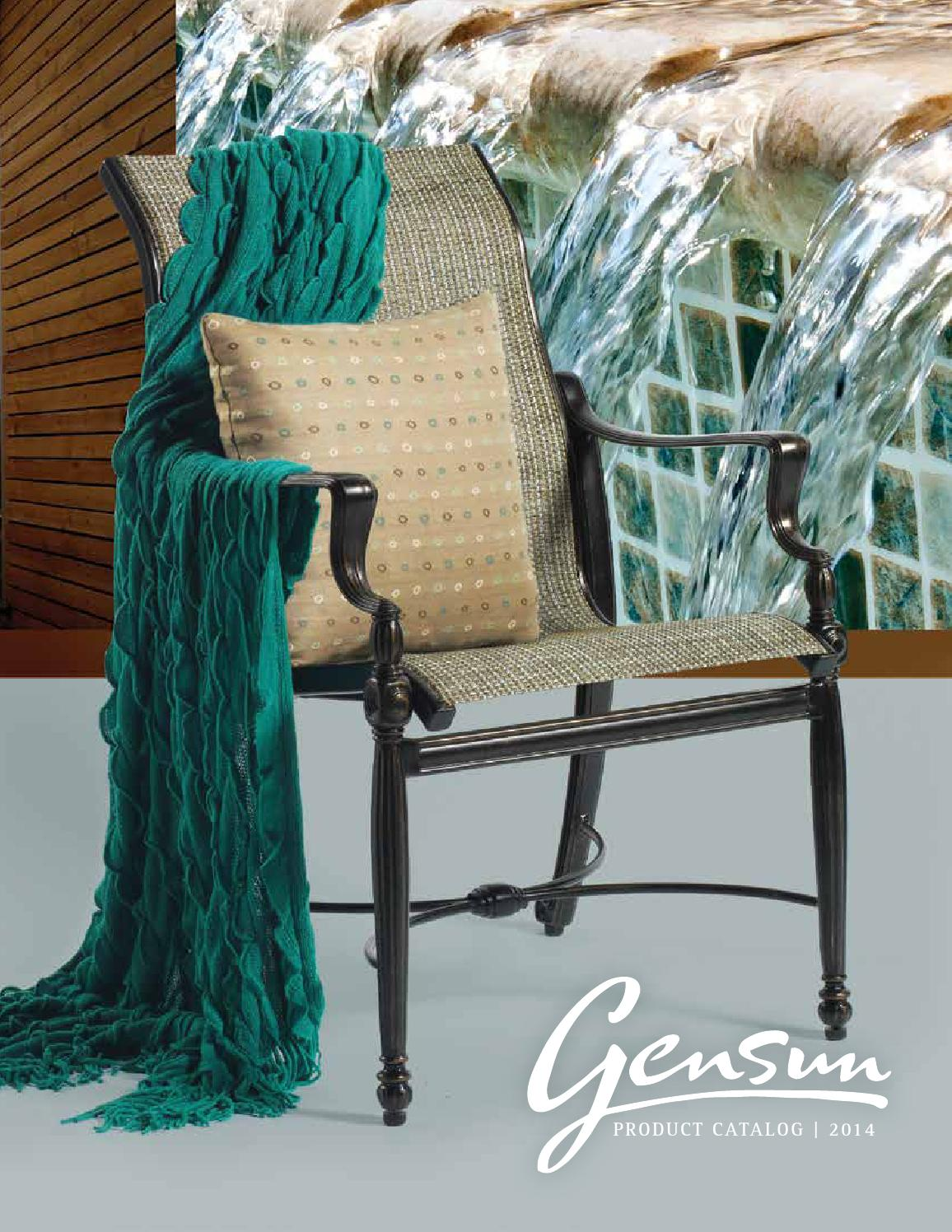 Gensun casual furniture catalog 2014 by Marx Fireplaces ...