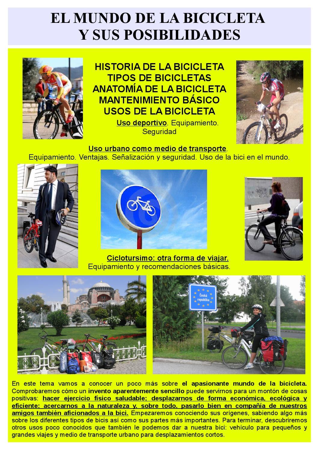 La bici y sus posiblidiades by Miguel Franco - issuu
