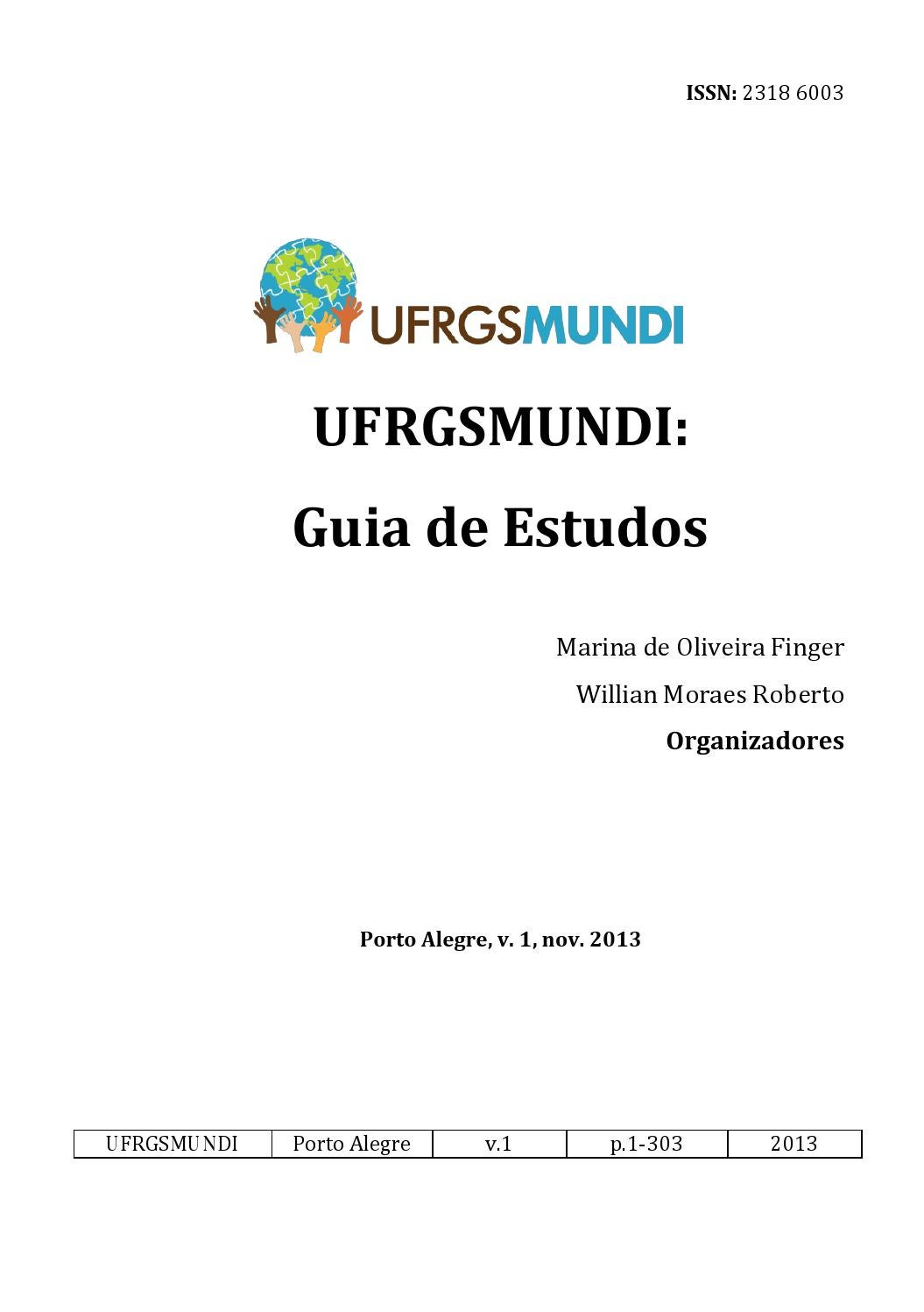Guia de estudos 2013 by ufrgsmundi issuu fandeluxe Choice Image