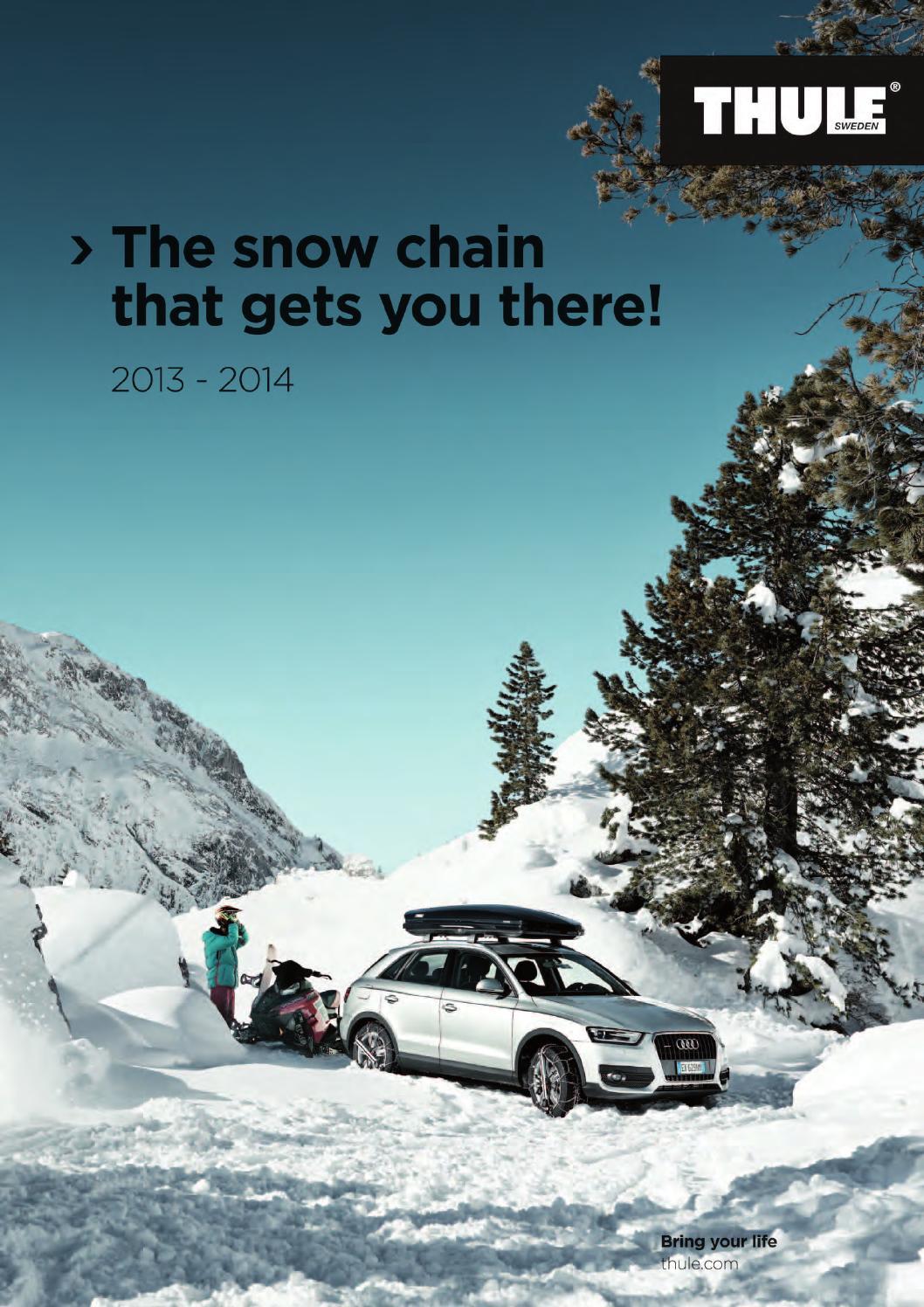 Snow Chains K/önig EASY-FIT CU-9 075 2 Pieces