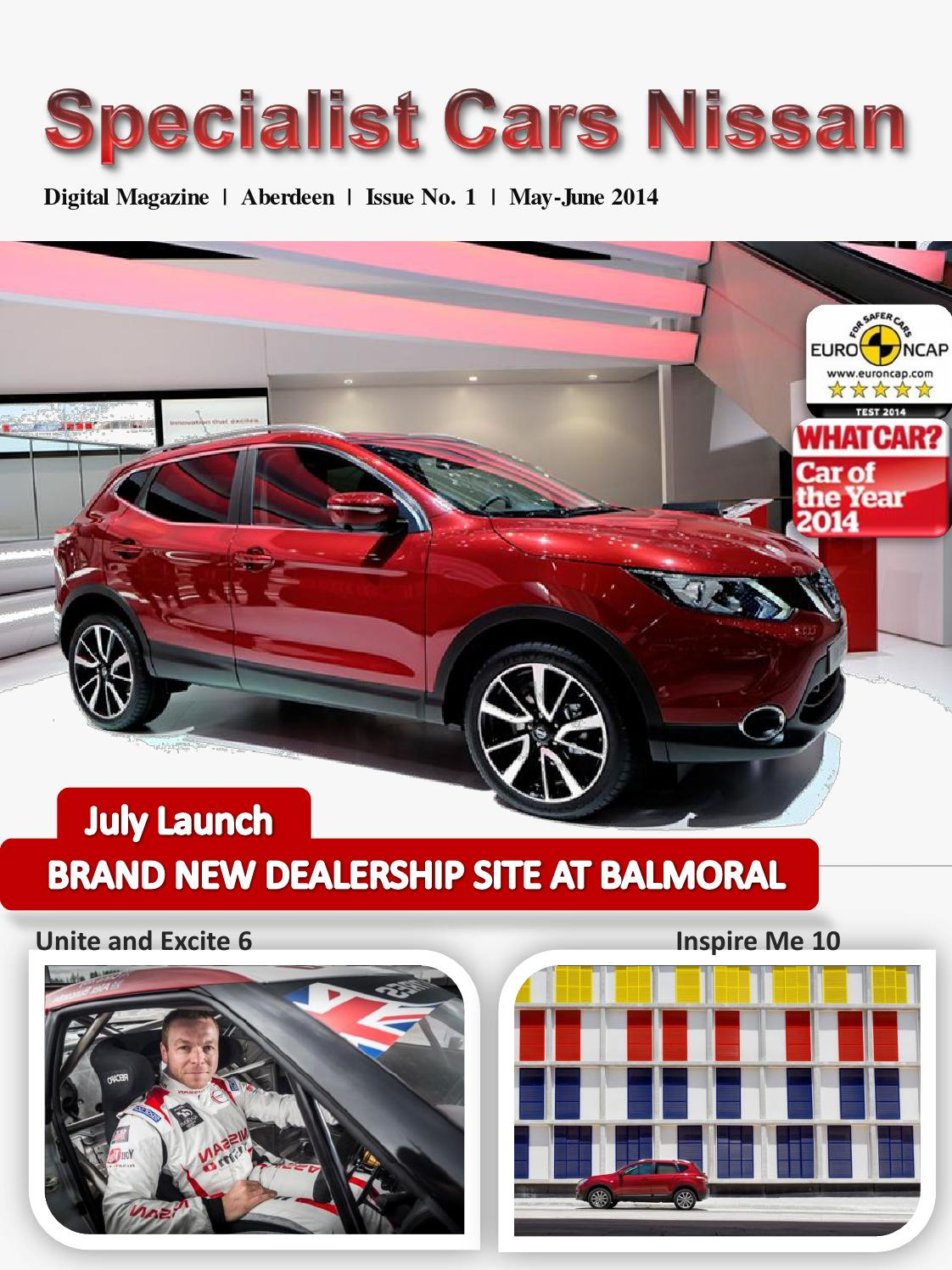 specialist cars nissan issue 1 by the john clark motor. Black Bedroom Furniture Sets. Home Design Ideas