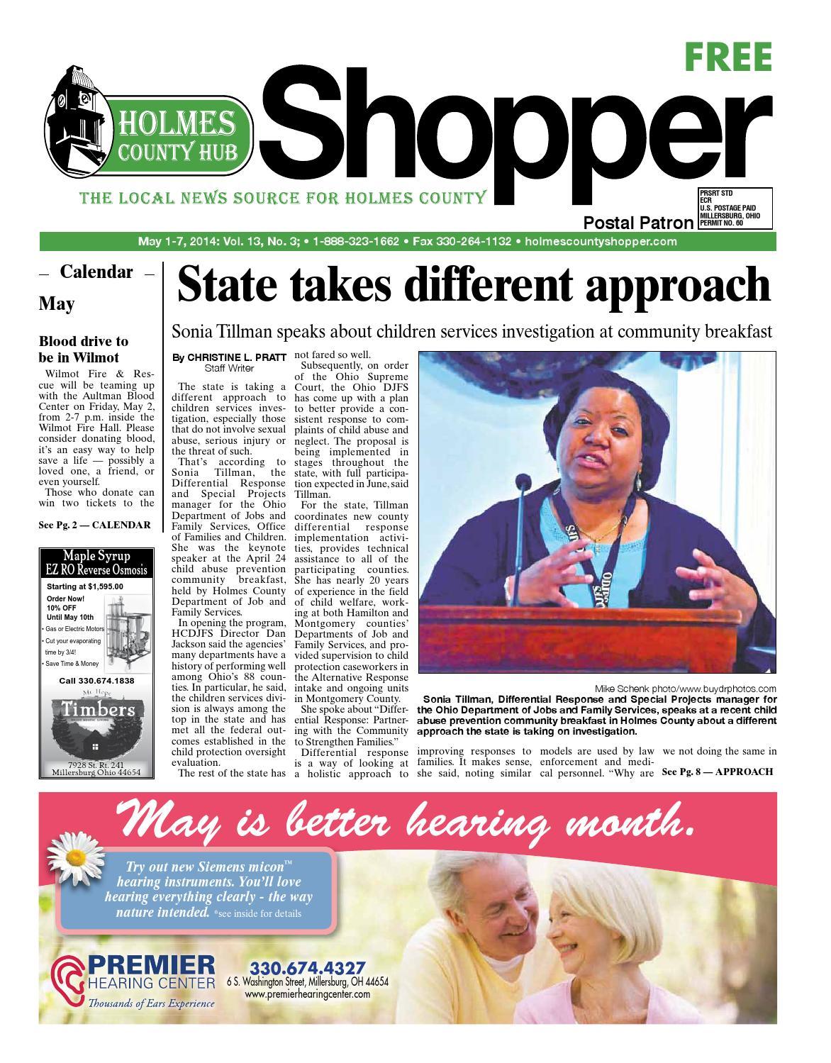 Holmes County Hub Shopper May 1 2014 By Gannett Neo Issuu