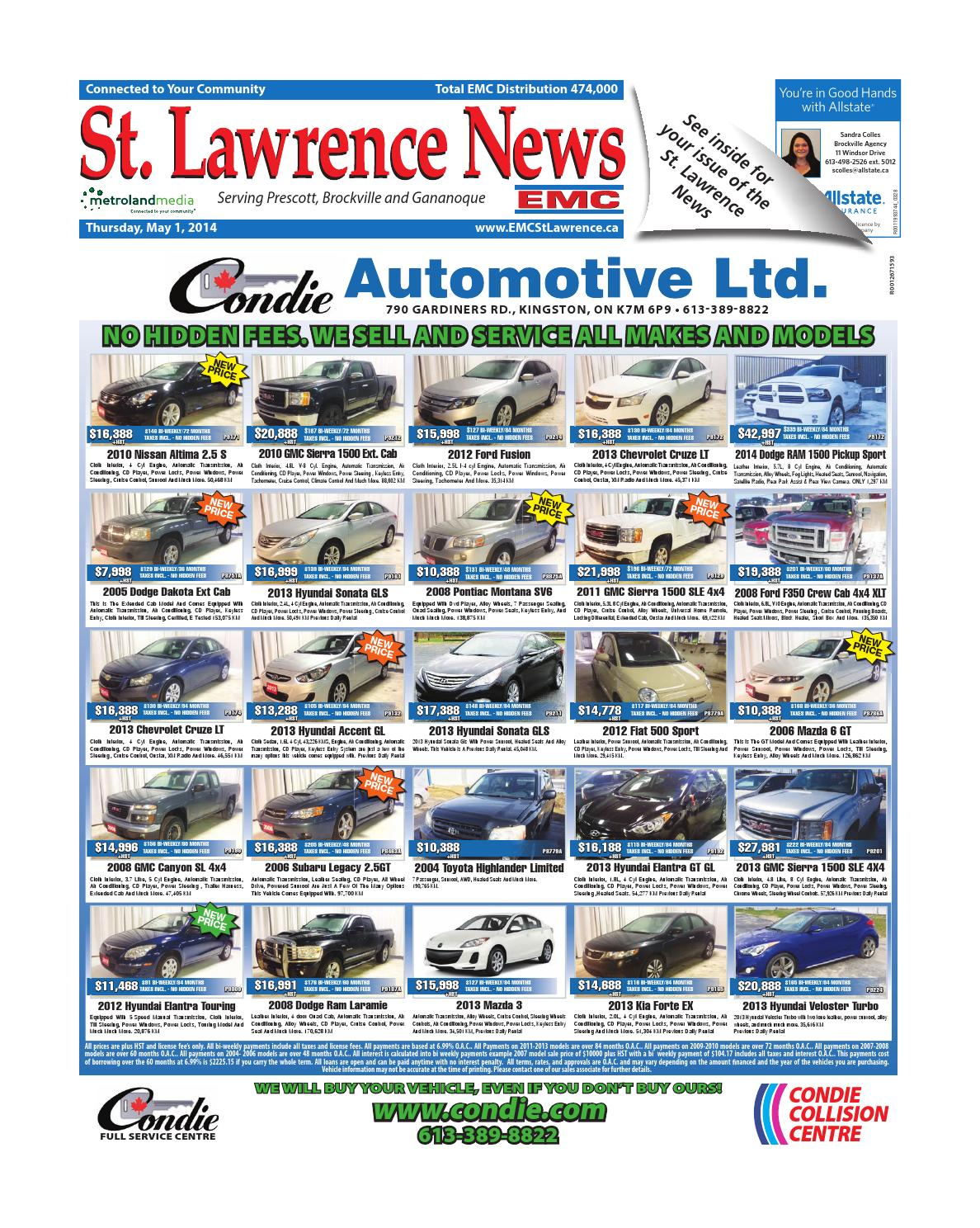 Stlawrence050114 by metroland east st lawrence news issuu fandeluxe Image collections