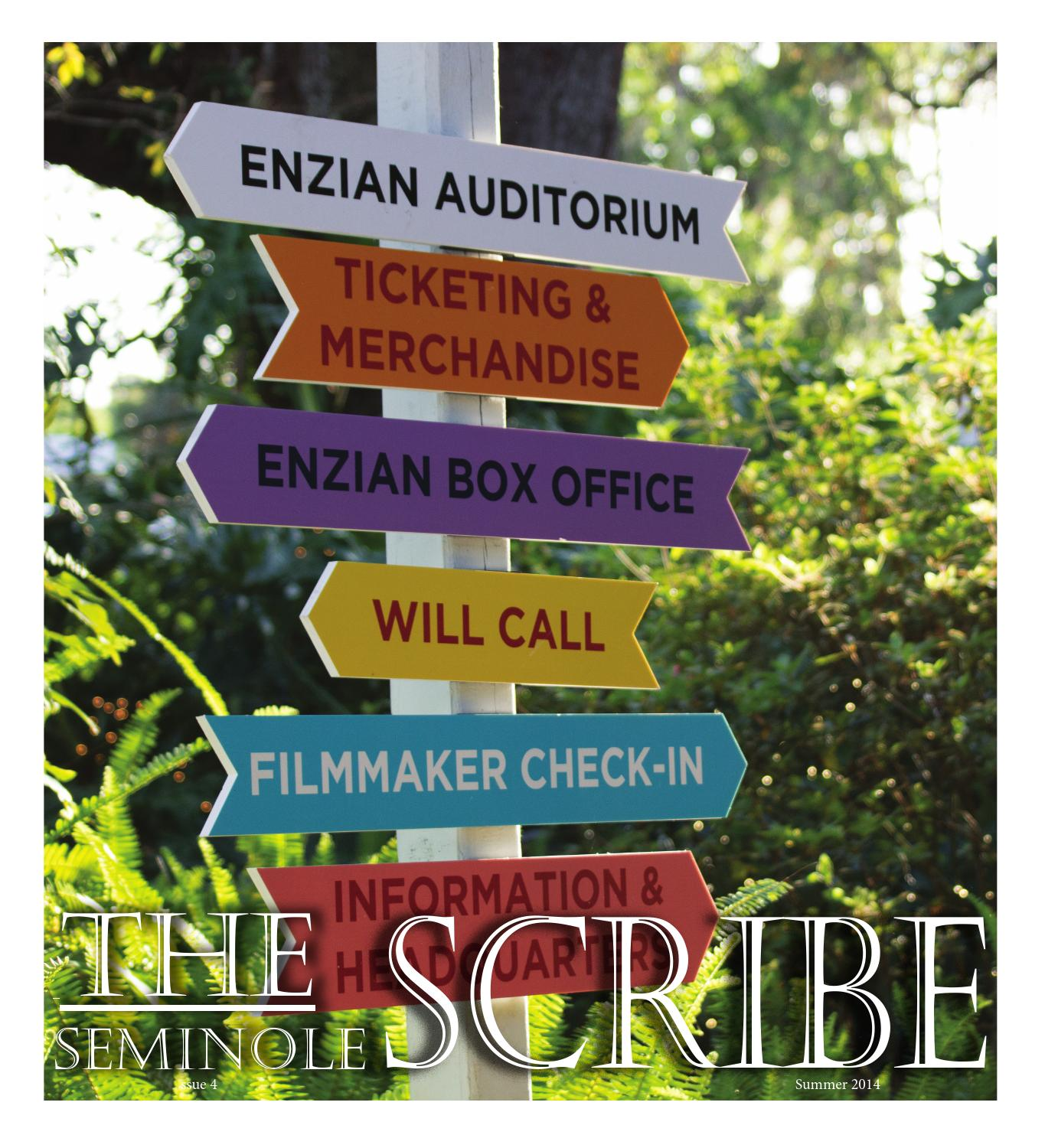 Summer 2014 By The Seminole Scribe