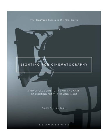 Page 1  sc 1 st  Issuu & Lighting for cinematography preview by Bloomsbury Publishing - issuu