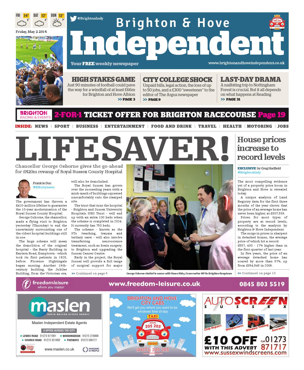 Brighton & Hove Independent - 2 May 2014 by Brighton & Hove ...