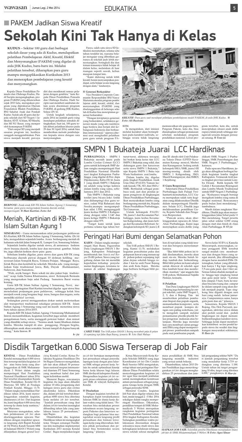WAWASAN 02 Mei 2014 by KORAN PAGI WAWASAN - issuu 162fc2f7b8