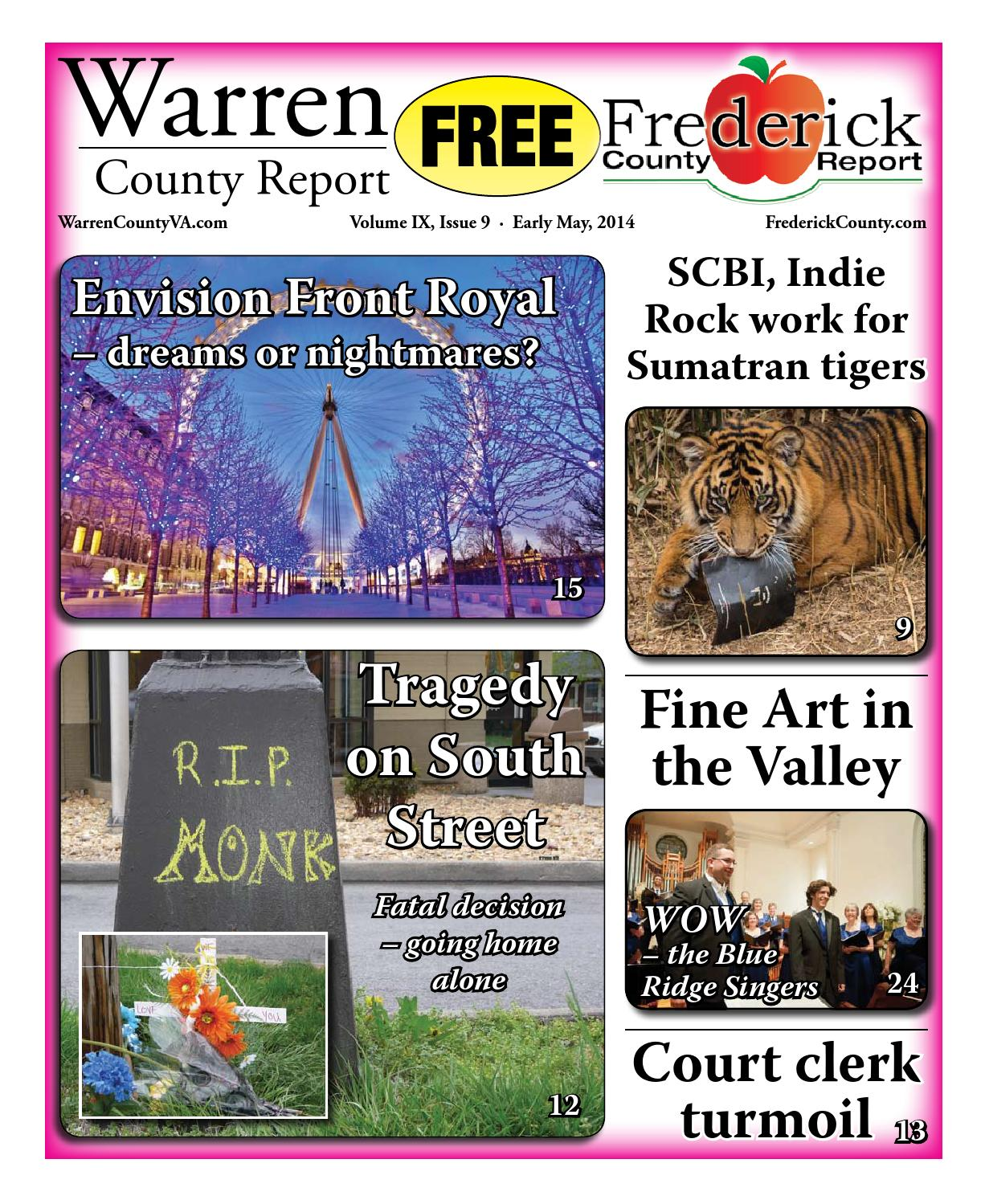 Early May 2014 Warren and Frederick County Report by Warren