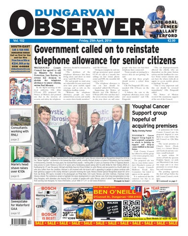 Dungarvan observer 25 4 2014 edition by Dungarvan Observer - issuu 9329a208624