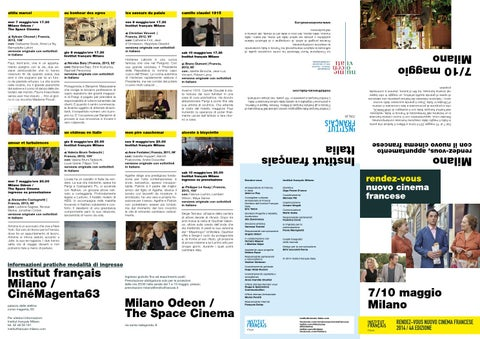 0c43a9dd2a1b Milano Film Festival - Catalogo 2016 by aficfestival - issuu