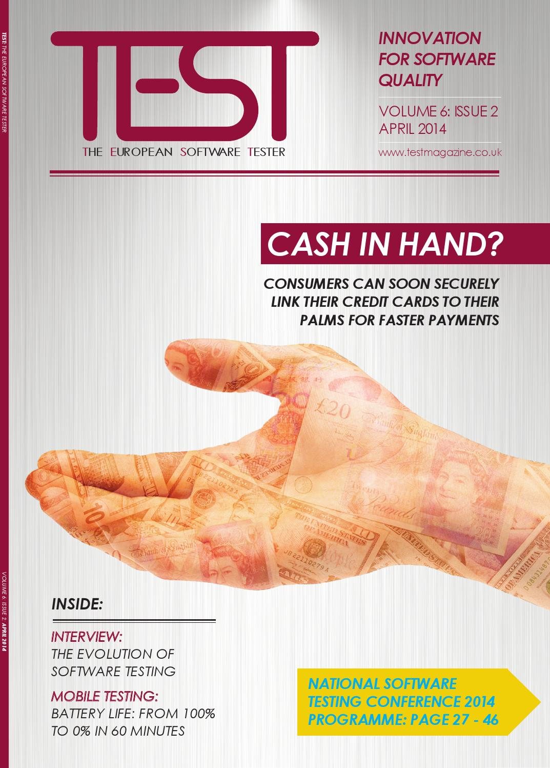 TEST Magazine - April - May 2014 by 31 Media - issuu