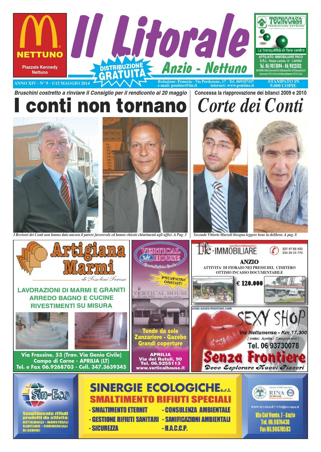 save off a000e 104eb Il Litorale n. 9 - 1 15 Maggio 2014 by Il Pontino Il Litorale - issuu