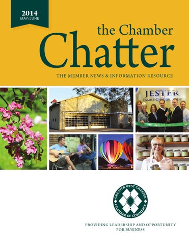 May June 2014 Chamber Chatter By Greater West Chester Chamber Of