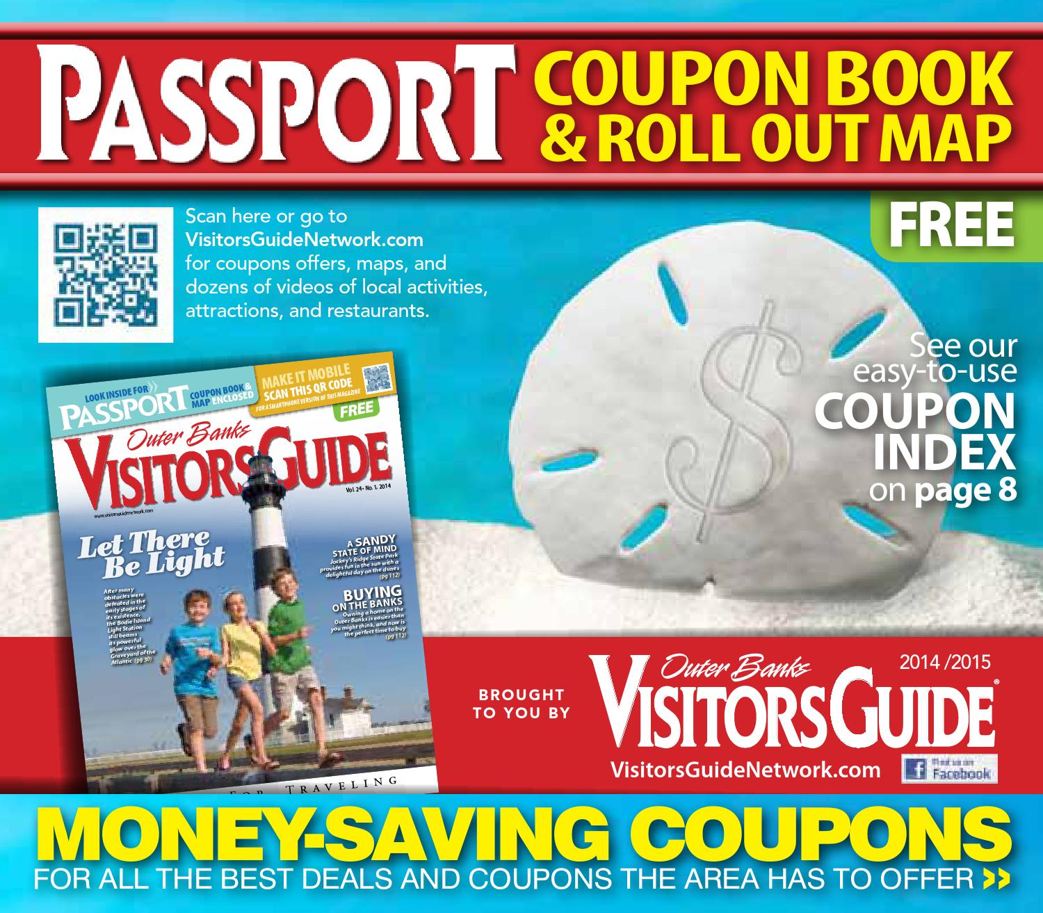Outer Banks Passport Coupon Book 2014 2015 by VistaGraphics issuu