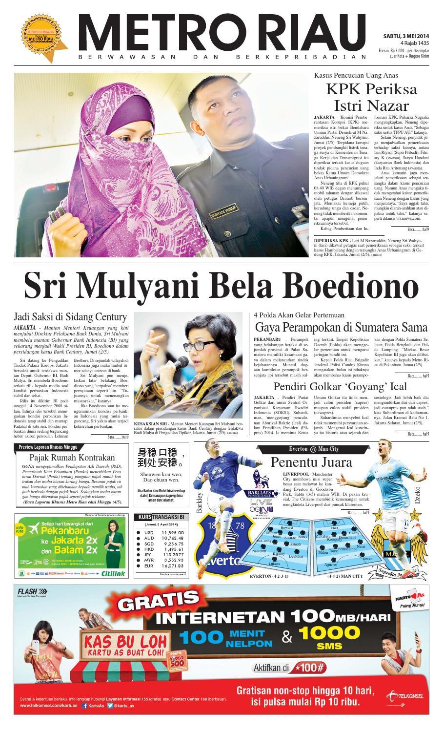 030514 By Harian Pagi Metro Riau Issuu Peci Beringin Jaya Pad