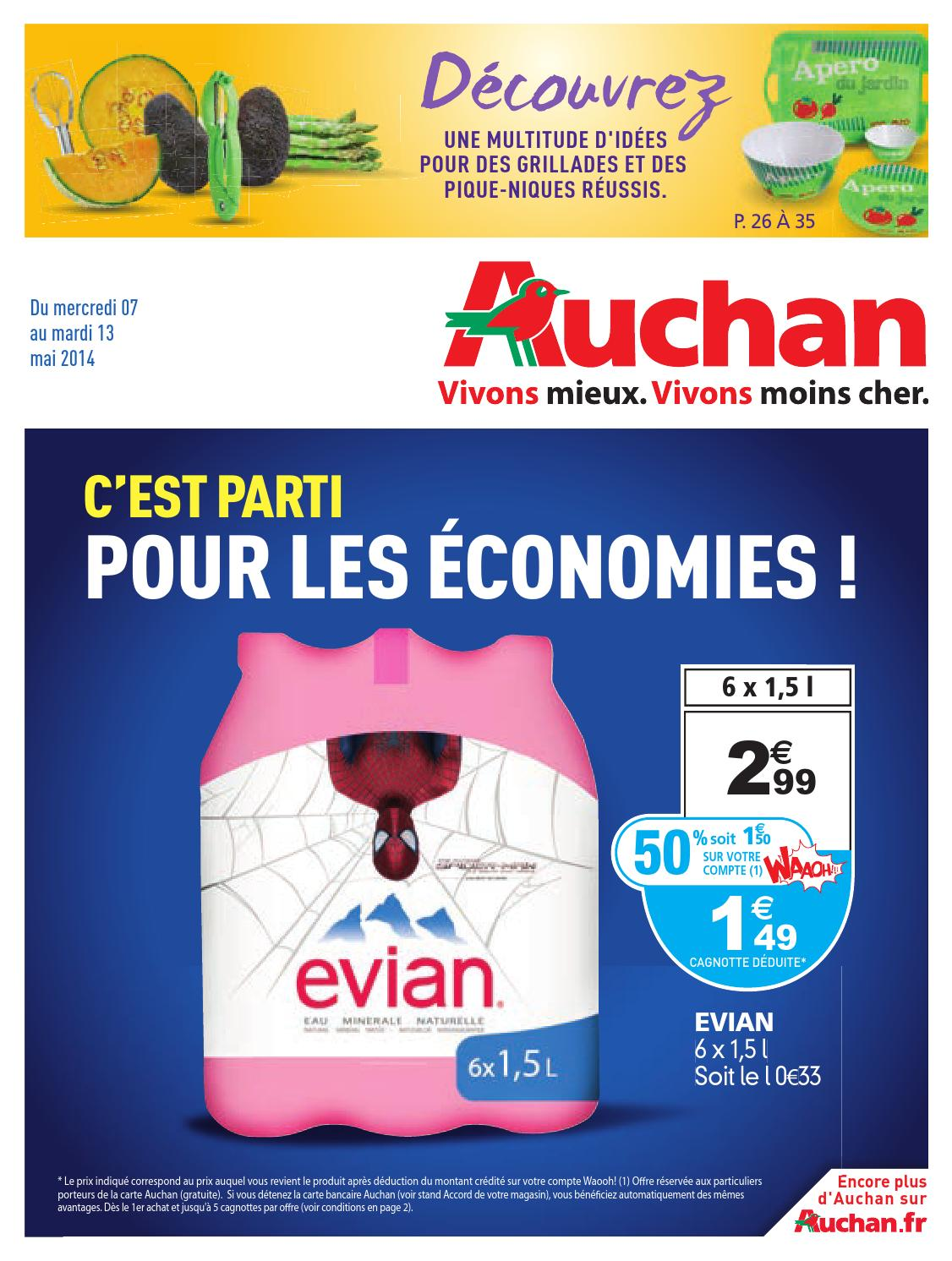 Auchan Catalogue Du Issuu 7 Anti 13 Mai Au By redxBCo