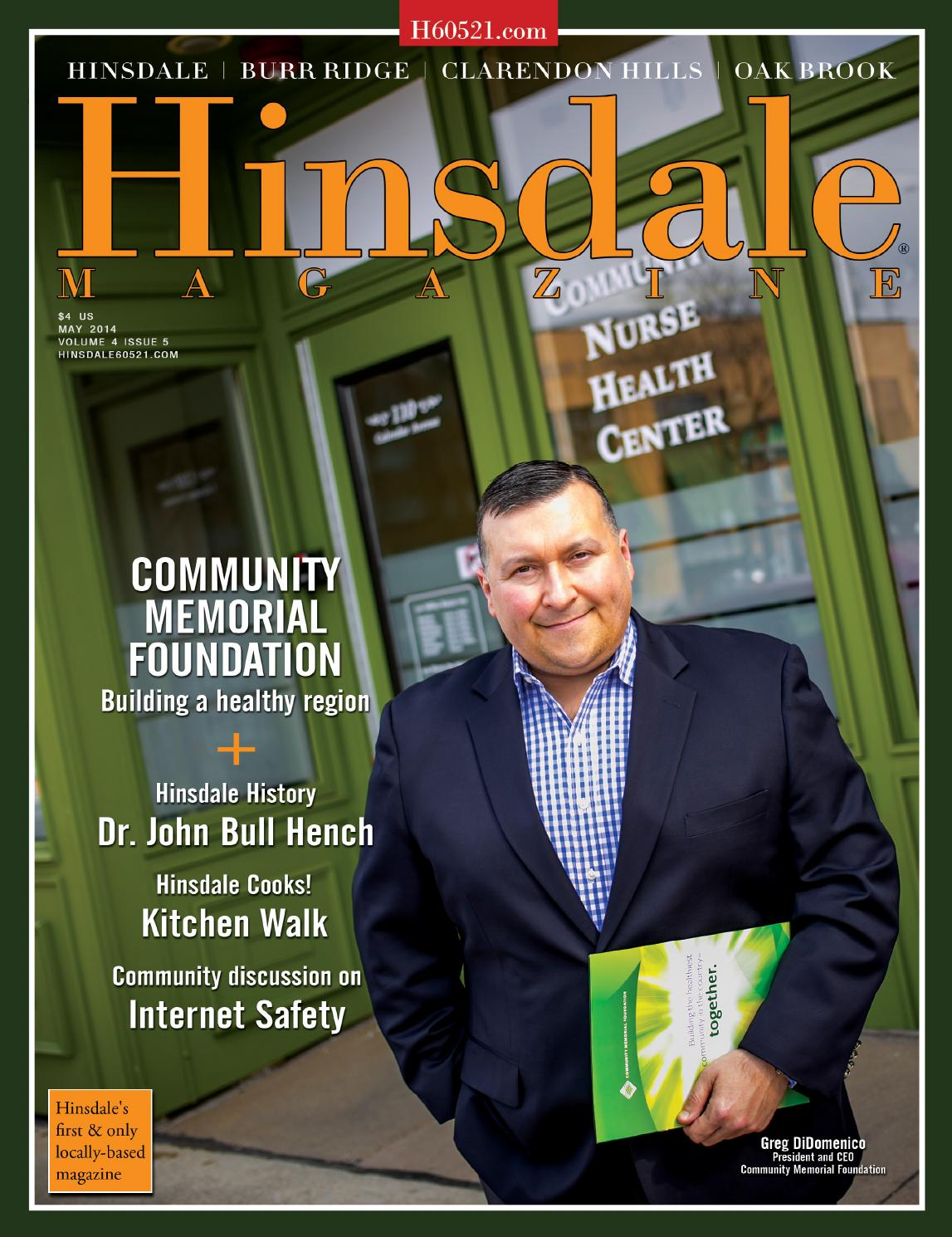 Hinsdale Magazine May 2014 By Www Hinsdalemag Com Issuu