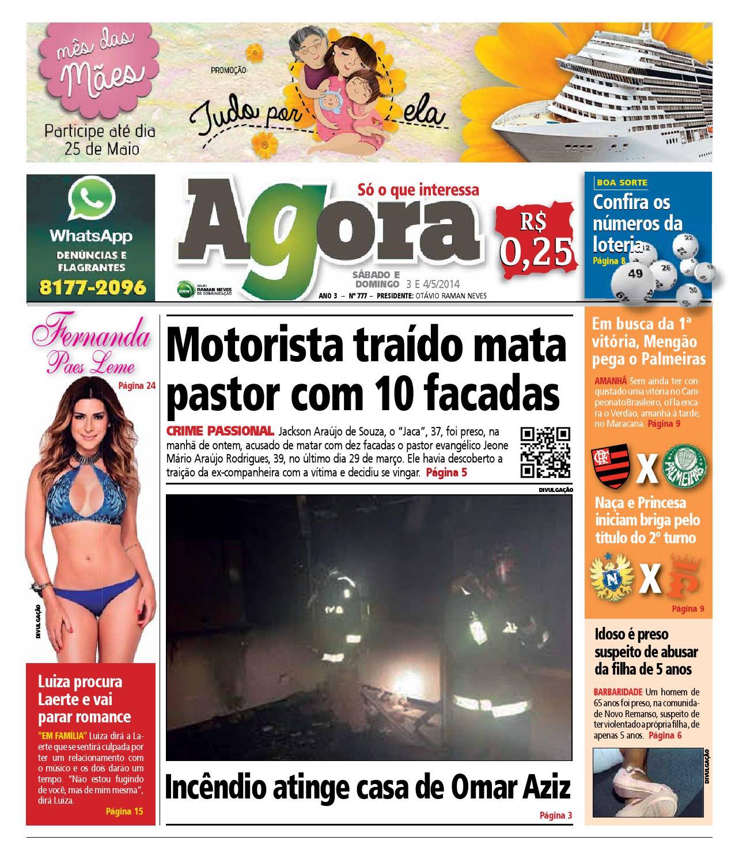 18d7255bd Agora - 3 de maio de 2014 by Amazonas Em Tempo - issuu
