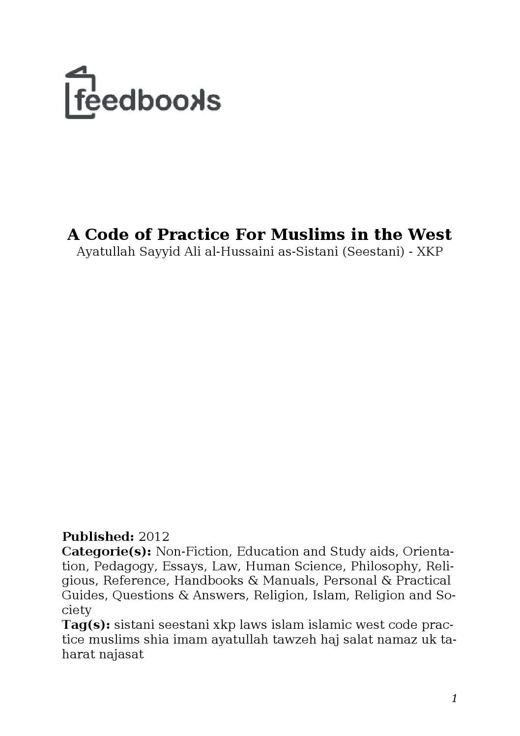 Islam and the west essay