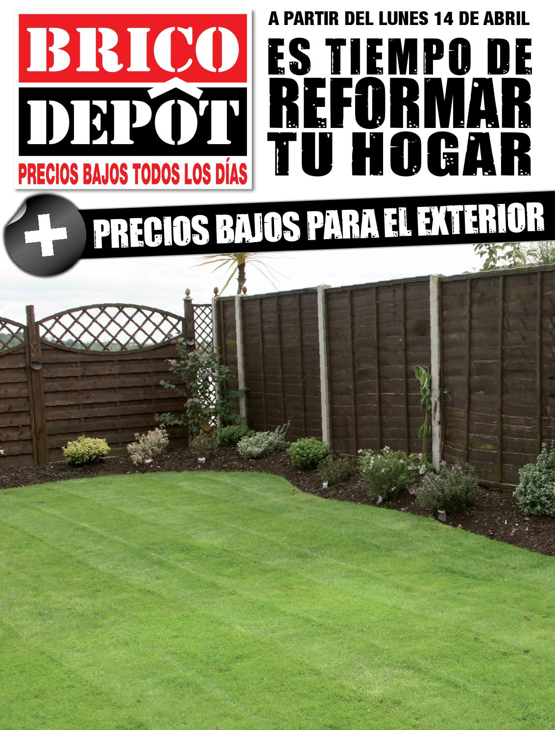 Casas de madera brico depot top cmo decorar la casa for Vallas de jardin brico depot