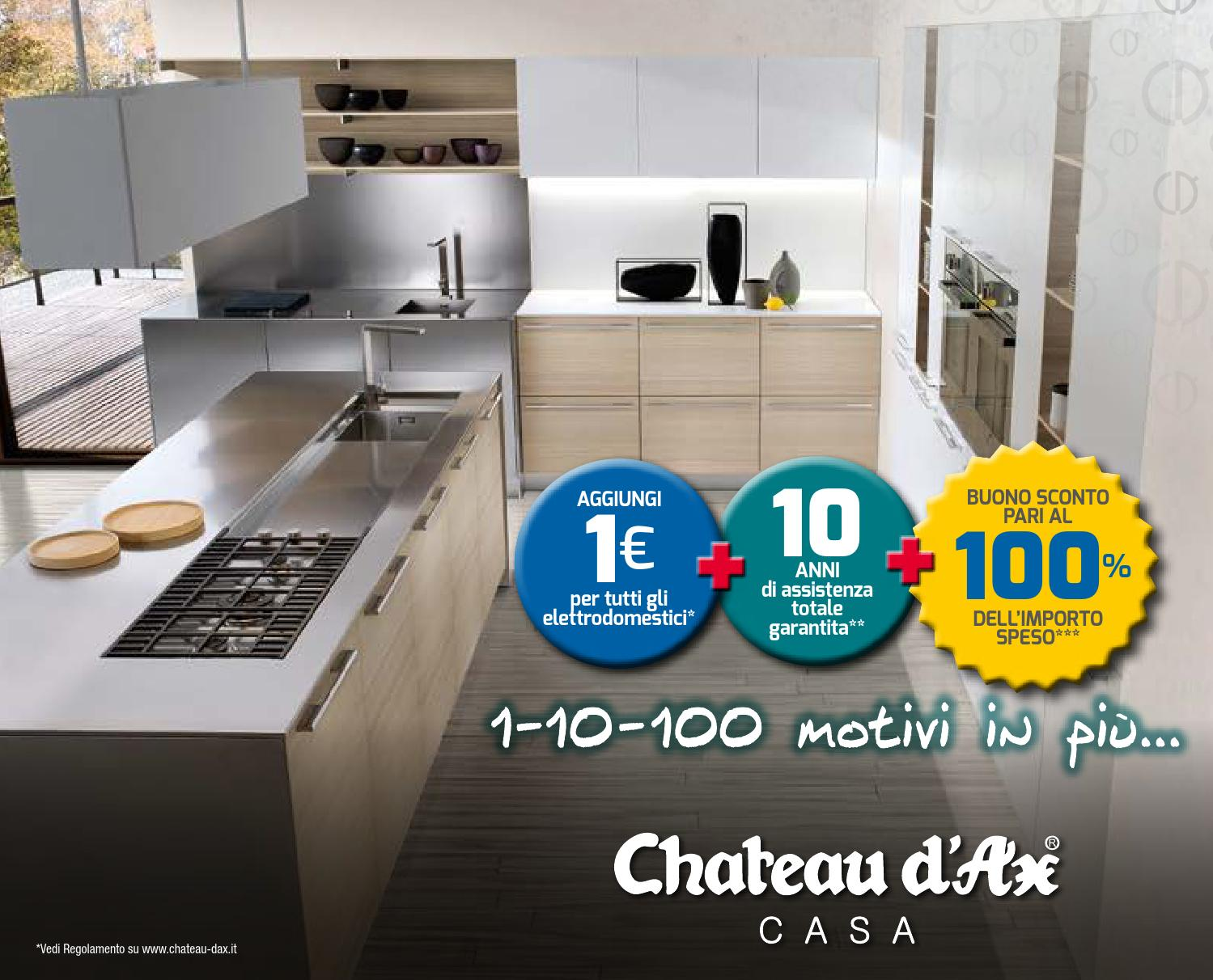 Chateau D Ax Depliant Cucine 2014 By Mobilpro Issuu