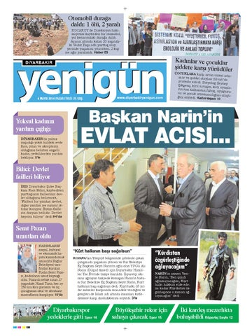 Diyarbakir Yenigun Gazetesi 4 Mayis 2014 By Osman Ergun Issuu