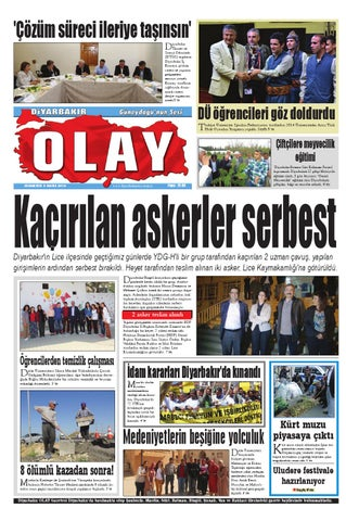 03 05 2014 Gazete Sayfalari By Diyarbakir Olaygazetesi Issuu