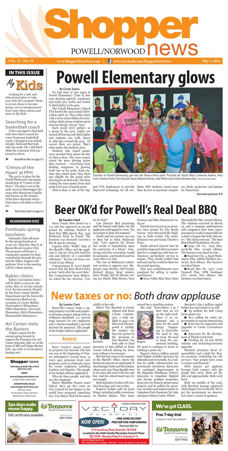Powell Norwood Shopper News 050514 By