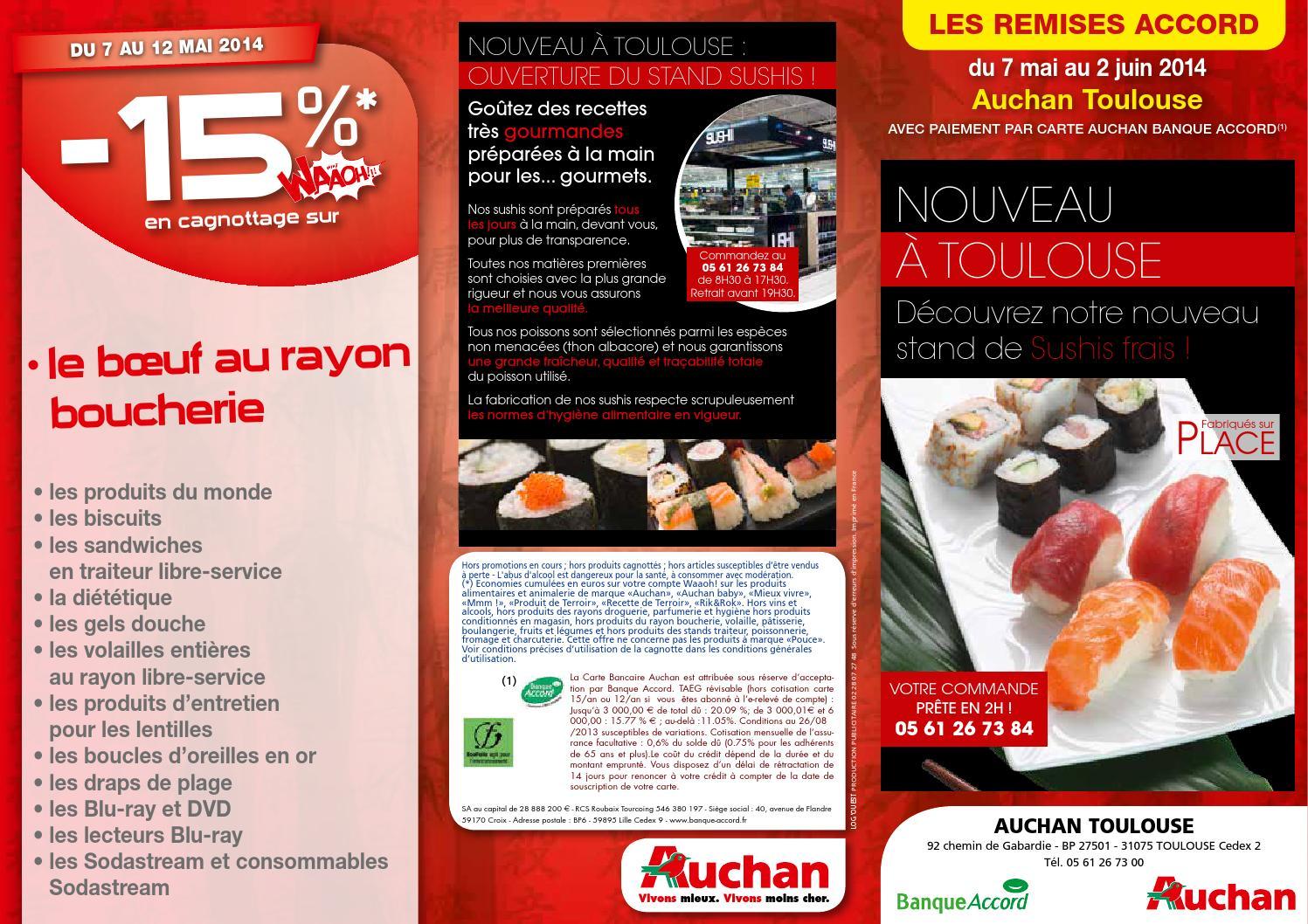 Carte Auchan Retrait.Catalogue Auchan Du 7 Mai Au 2 Juin By Anti Crise Fr Issuu