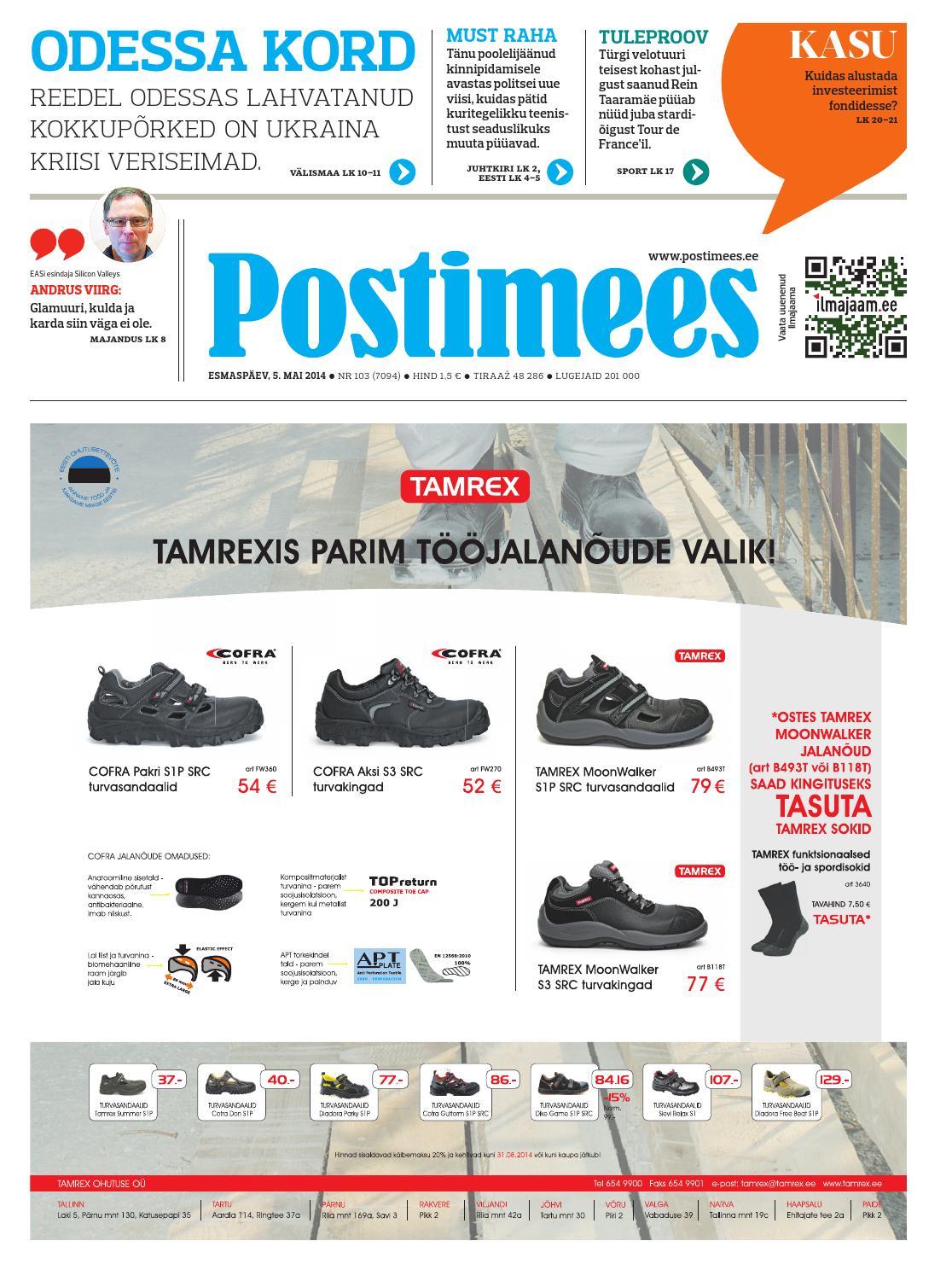 f4ba32aa419 Postimees 05 05 2014 by Postimees - issuu
