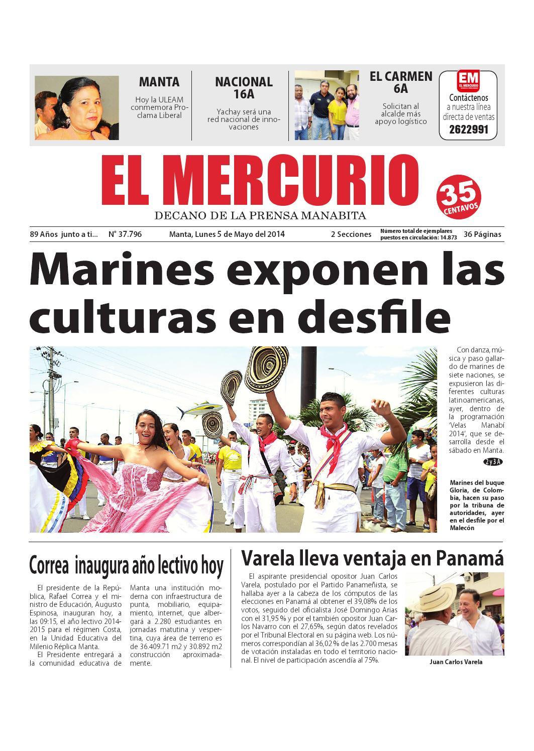 Mercurio lunes 5 de mayo de 2014 by Diario El mercurio - issuu
