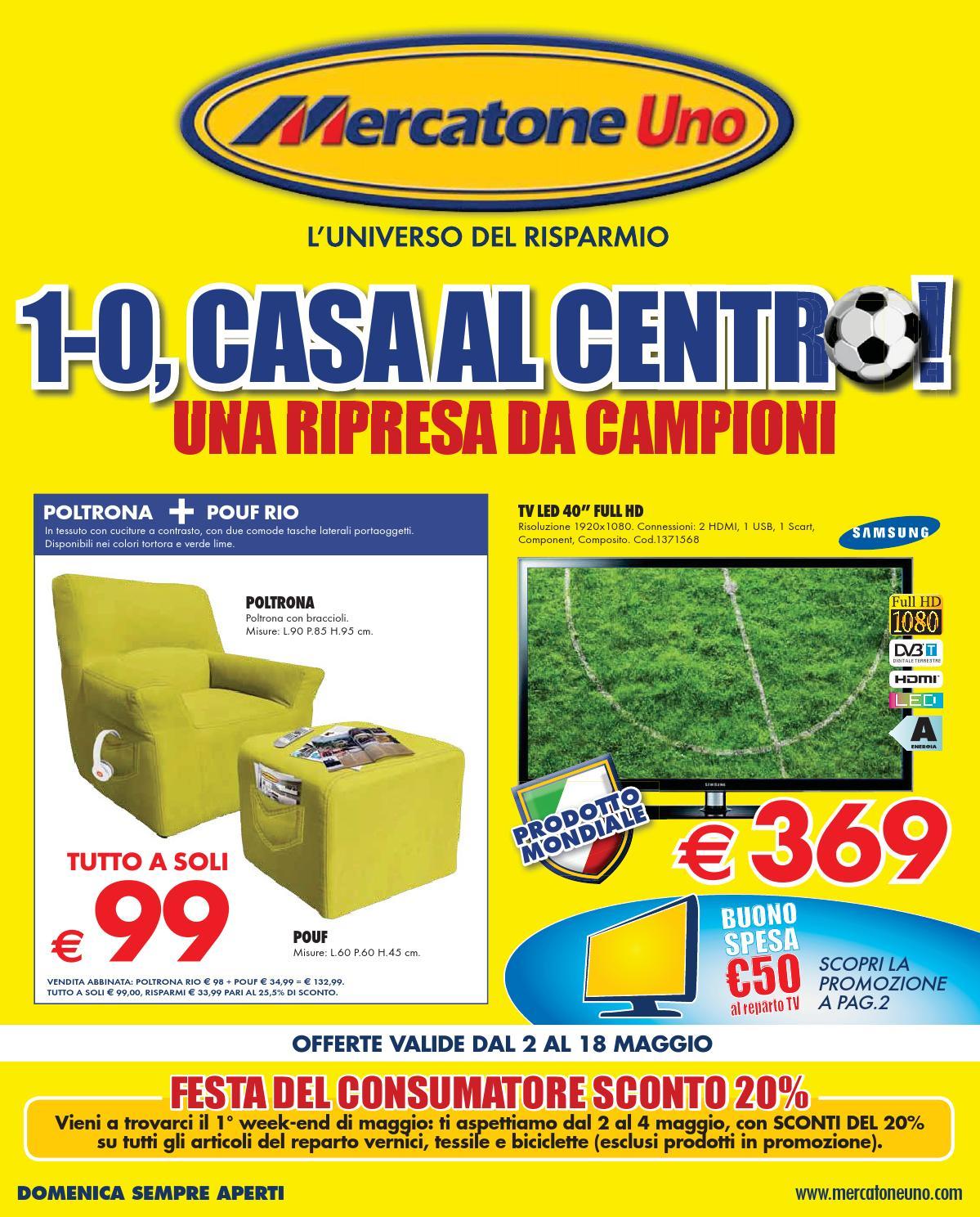 Mercatoneuno catalogo 2 18maggio2014 by catalogopromozioni for Mercatone uno palermo camerette