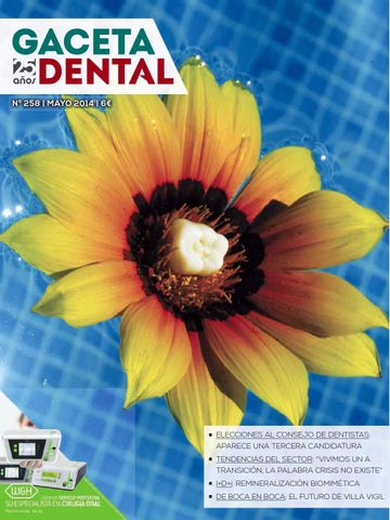 2c6bbd491192 Gaceta Dental - 258 by Peldaño - issuu