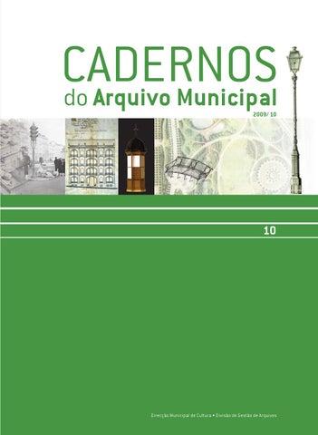 Cadernos do Arquivo Municipal 10 by Câmara Municipal de Lisboa - issuu 569685b24c952