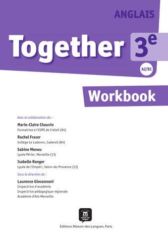 homework anglais 3eme