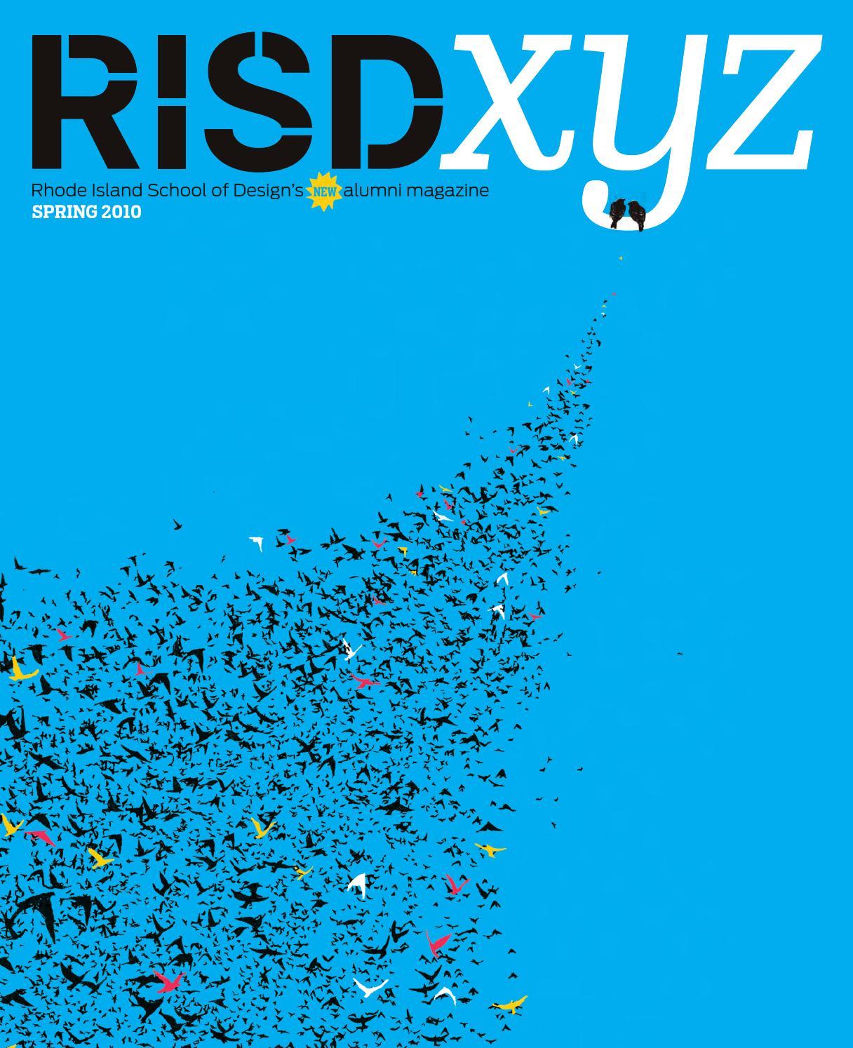 RISD XYZ Spring 2010 by Rhode Island School of Design - issuu