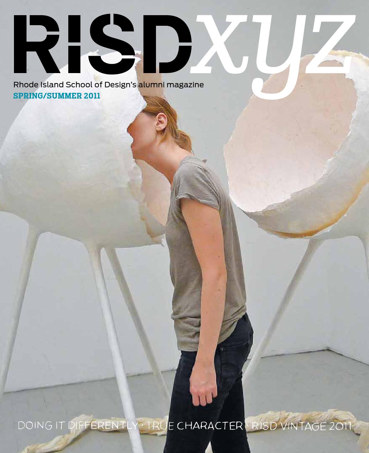 Risd Xyz Spring Summer 2011 By Rhode Island School Of Design Issuu Ford Fairmont Ignition Wiring Diagram